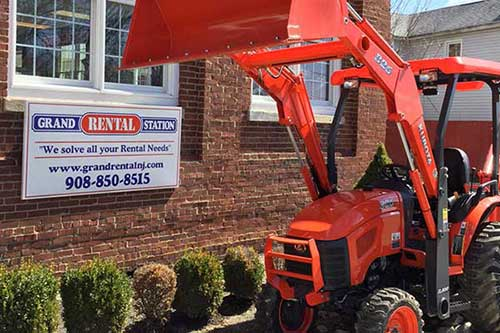 Grand Rental Station in Hackettstown NJ rents equipment and tools