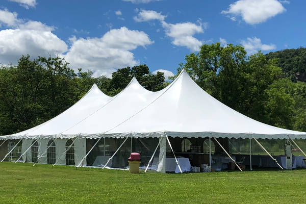 Tent rentals in Warren, Sussex, Morris & Essex Counties