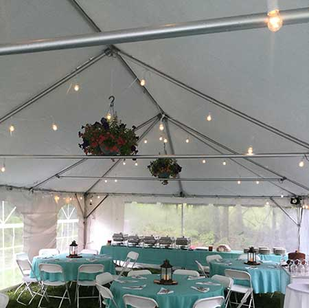 Grand Rental Station rents frame tents in Warren, Sussex, Morris & Essex Counties