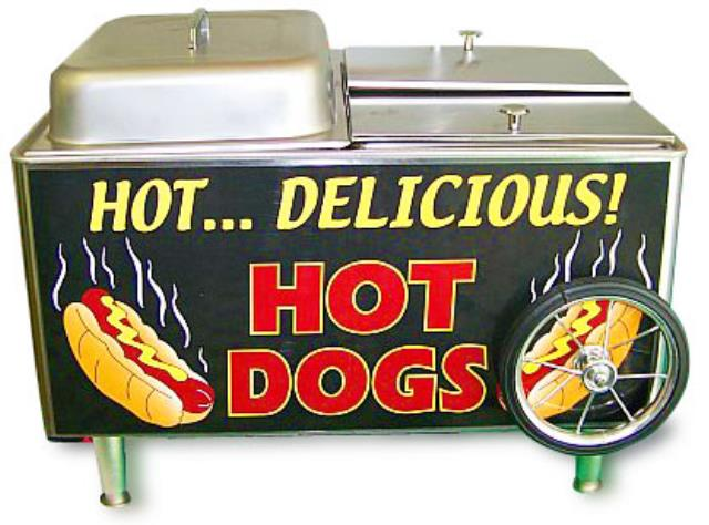 Where to find HOT DOG CART in Hackettstown