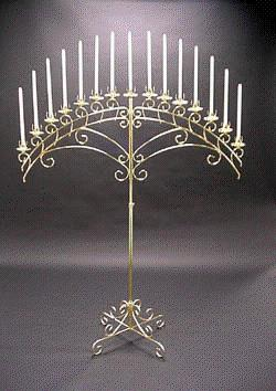 Where to find CANDELABRA, 15 NICKLE SET in Hackettstown