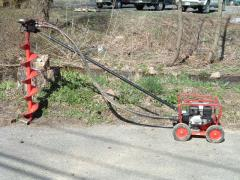 Rental store for AUGER, 1 MAN RED 5 HP in Hackettstown NJ
