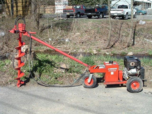 Where to find AUGER, HYDRAULIC 11HP, 1 in Hackettstown