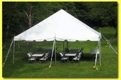 Rental store for PARTY TENT 20 X 20 WHITE CANOPY in Hackettstown NJ