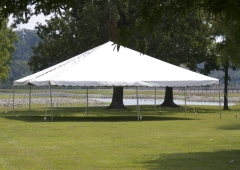 Rental store for EVENT TENT 40  X 40  FRAME in Hackettstown NJ
