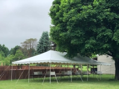 Rental store for PARTY TENT 20 X 40 WHITE CANOPY in Hackettstown NJ