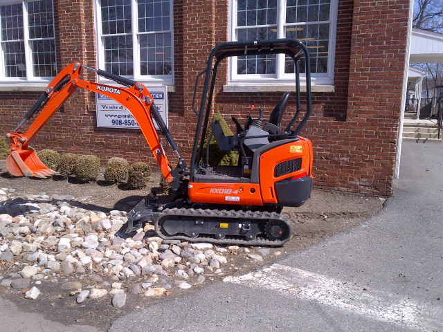 Mini Excavator Kubota Kx018 4 Rentals Hackettstown Nj