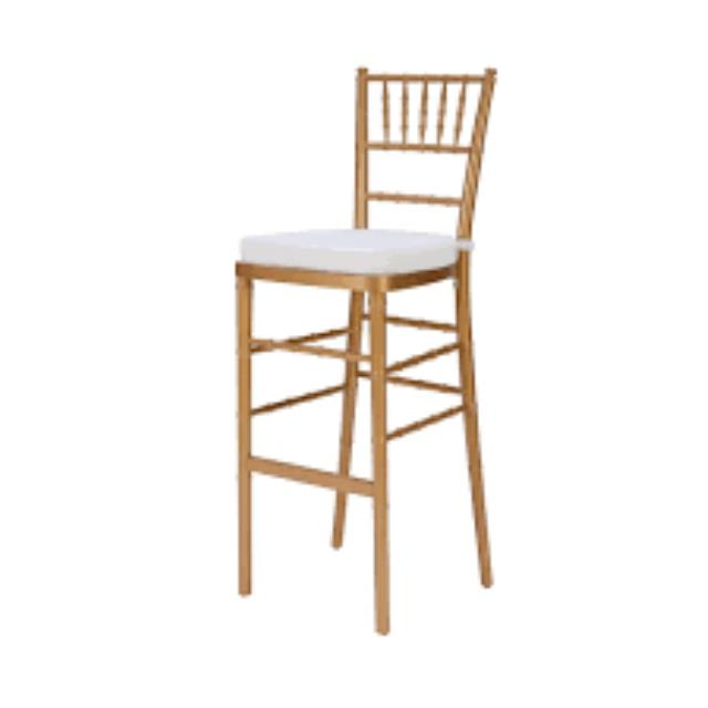 Where to find CHAIR, GOLD CHIAV BARSTOOL in Hackettstown