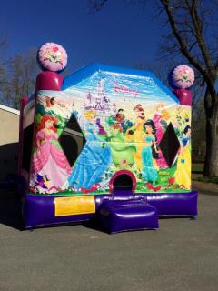 Rental store for Princess 4 IN 1 Combo with Slide in Hackettstown NJ