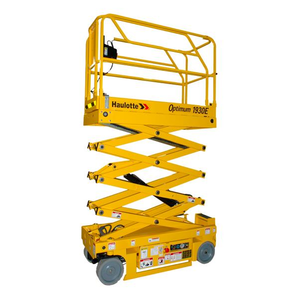 Where to find Scissor Lift 19   Yellow in Hackettstown