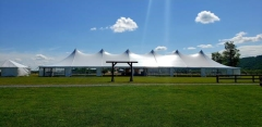 Rental store for EVENT TENT   40  X 140  POLE in Hackettstown NJ