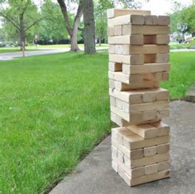 Where to find GIANT JENGA in Hackettstown
