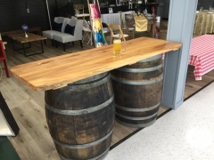Rental store for BAR,WOOD TOP WHISK BARRELS in Hackettstown NJ