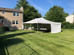 Rental store for PARTY TENT 20 X 30 WHITE CANOPY in Hackettstown NJ