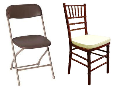 Chair Rentals in Blairstown New Jersey, Hackettstown, Budd Lake, Long Valley, Andover NJ