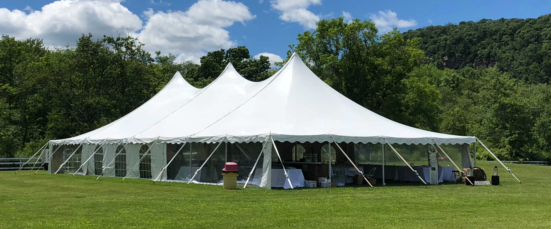 Event Rentals in the Western New Jersey and Eastern Pennsylvania